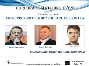 Corporate Matching Event