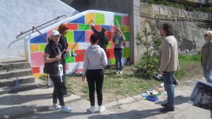 2 - Impacti picteaza zidul