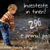 [F] Investeste in tineri! 2% e primul pas!