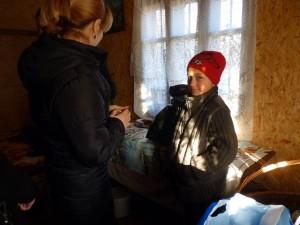 """Mara, o fetita de 11 ani pe care am ajutat-o in cadrul proiectului """"O picatura de ajutor"""" Rotaract"""