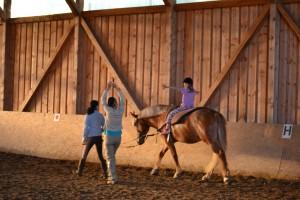 sedinta de terapie asistata de cal, editia 2012 a proiectului