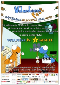 poster Voluntar in 5 minute
